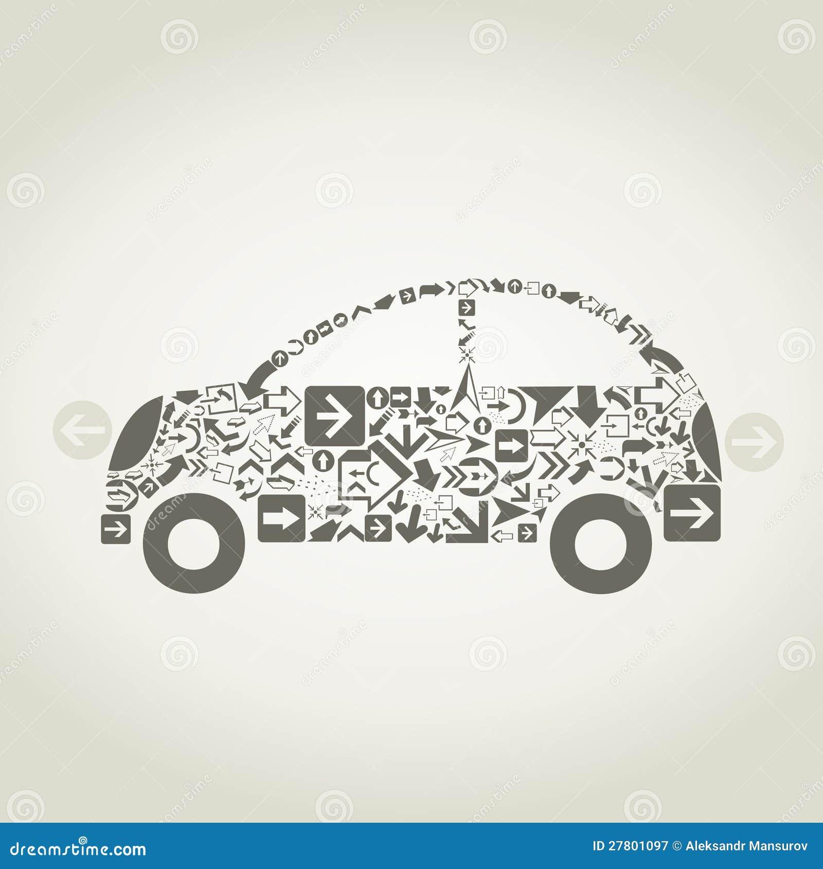 Flèche de véhicule