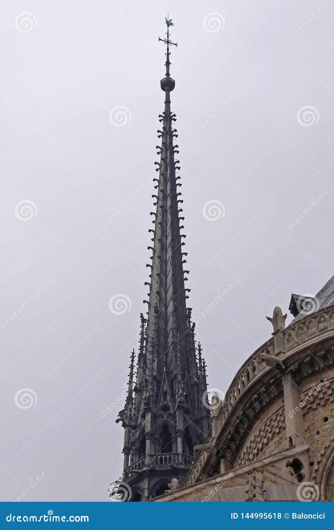Flèche Notre Dame