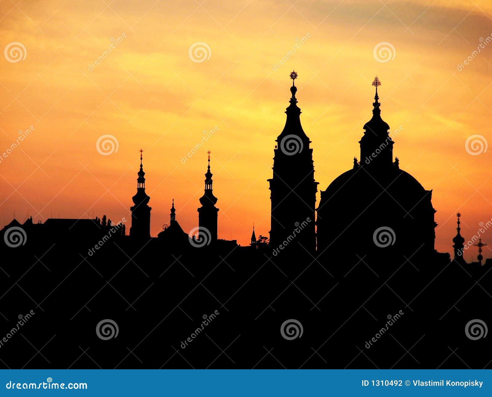 Flèches de Prague