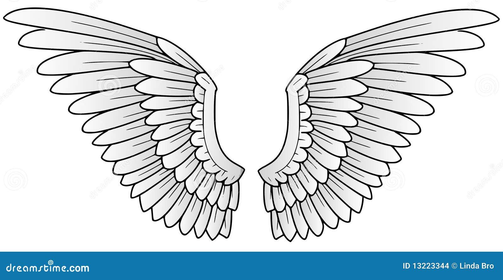 fl gel stock abbildung bild von zeichnung zeichen flugwesen 13223344. Black Bedroom Furniture Sets. Home Design Ideas
