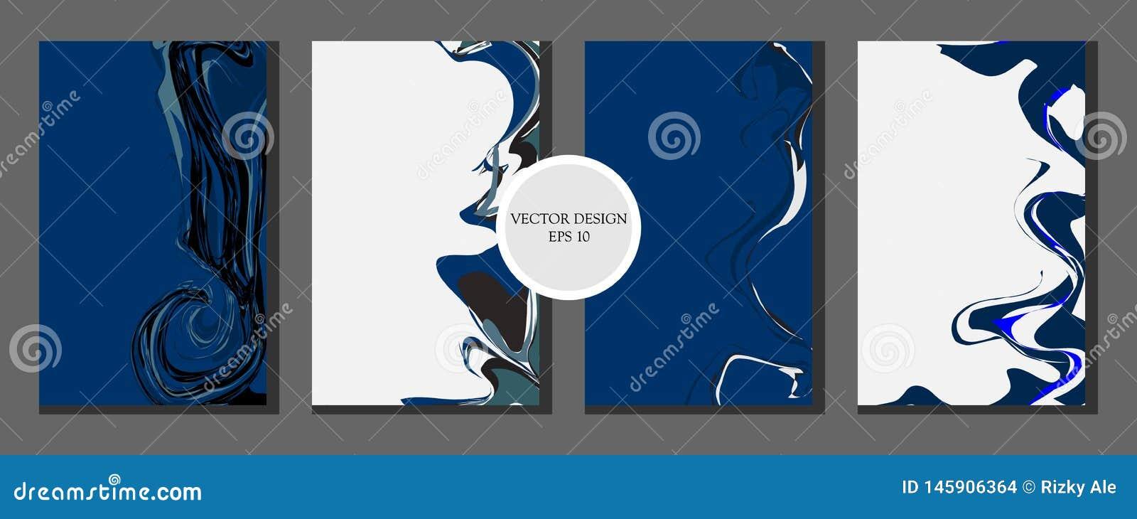Fl?ssiges Marmorbeschaffenheitsdesign Helle Farbe Bunter abstrakter Aufbau Mischung von Acrylfarben Flüssige Kunst - Vektor