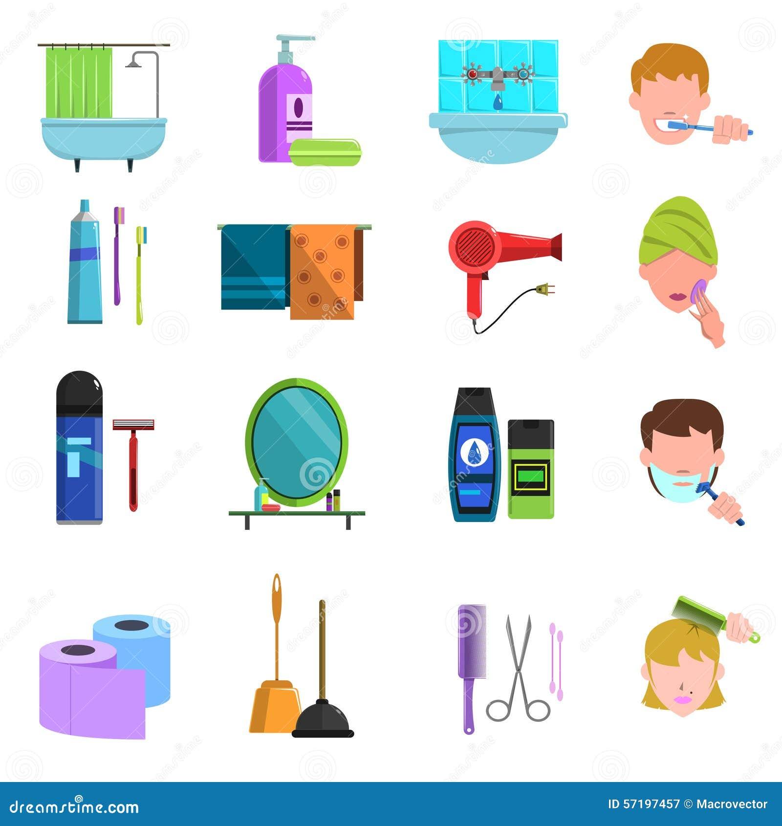 flache-ikonen-der-krperpflegeprodukte-ei