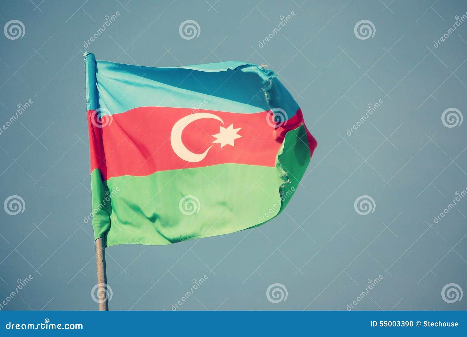 Azerbaijan Flag Filter