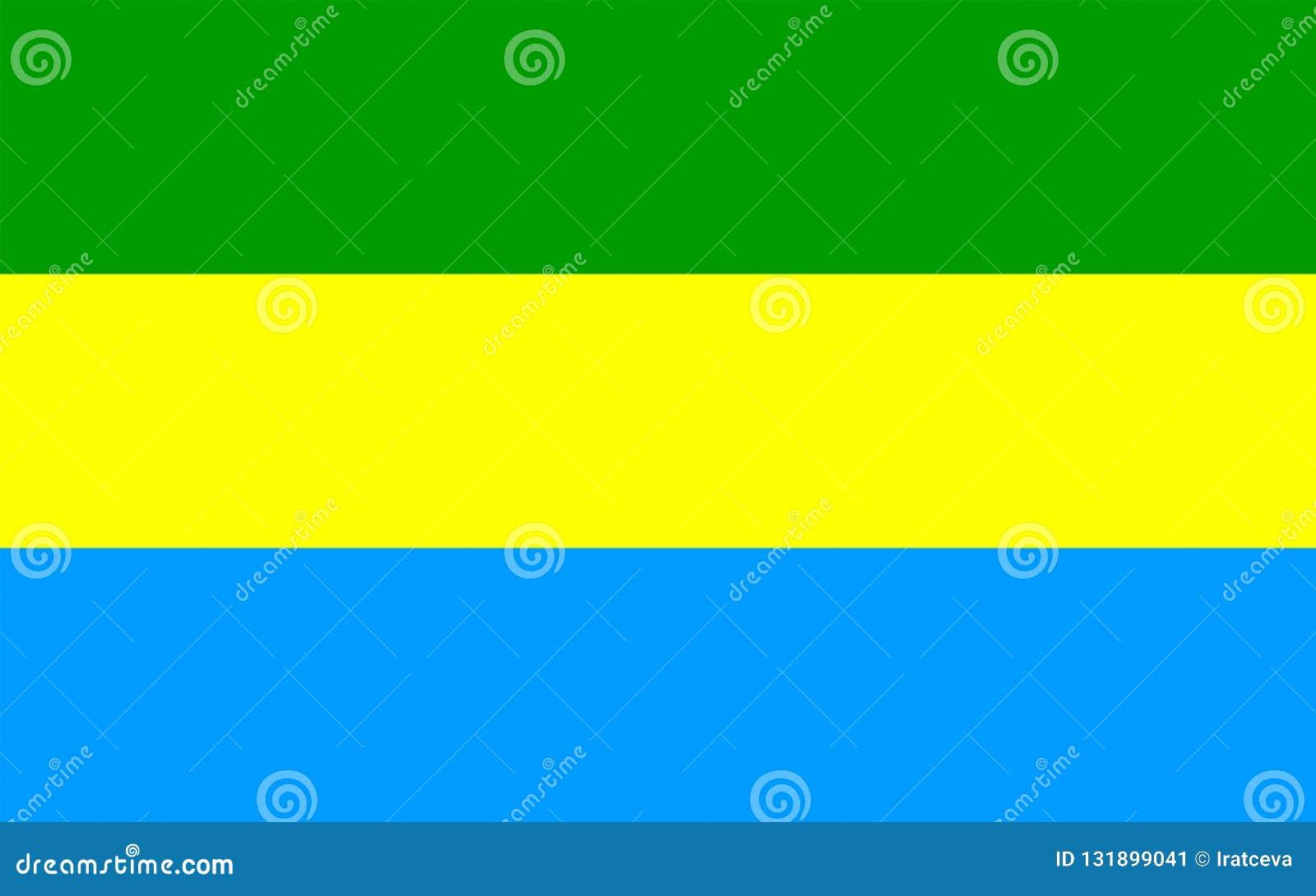 Flag of Bandung, Indonesia