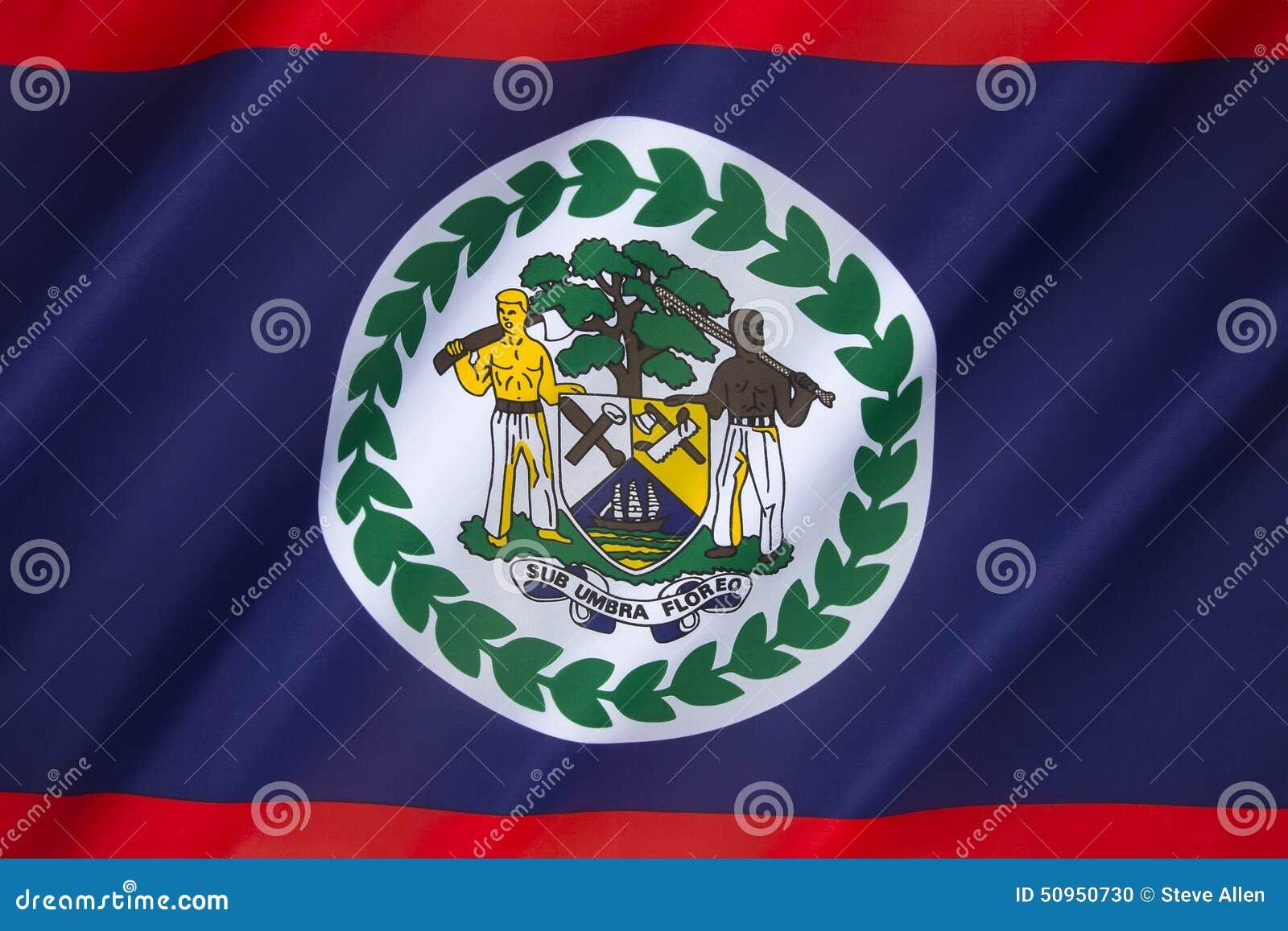 flag of belize stock photo image of symbol america 50950730