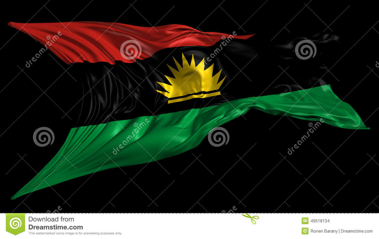 Flag of biafra stock footage illustration of liquid 49518134 thecheapjerseys Image collections