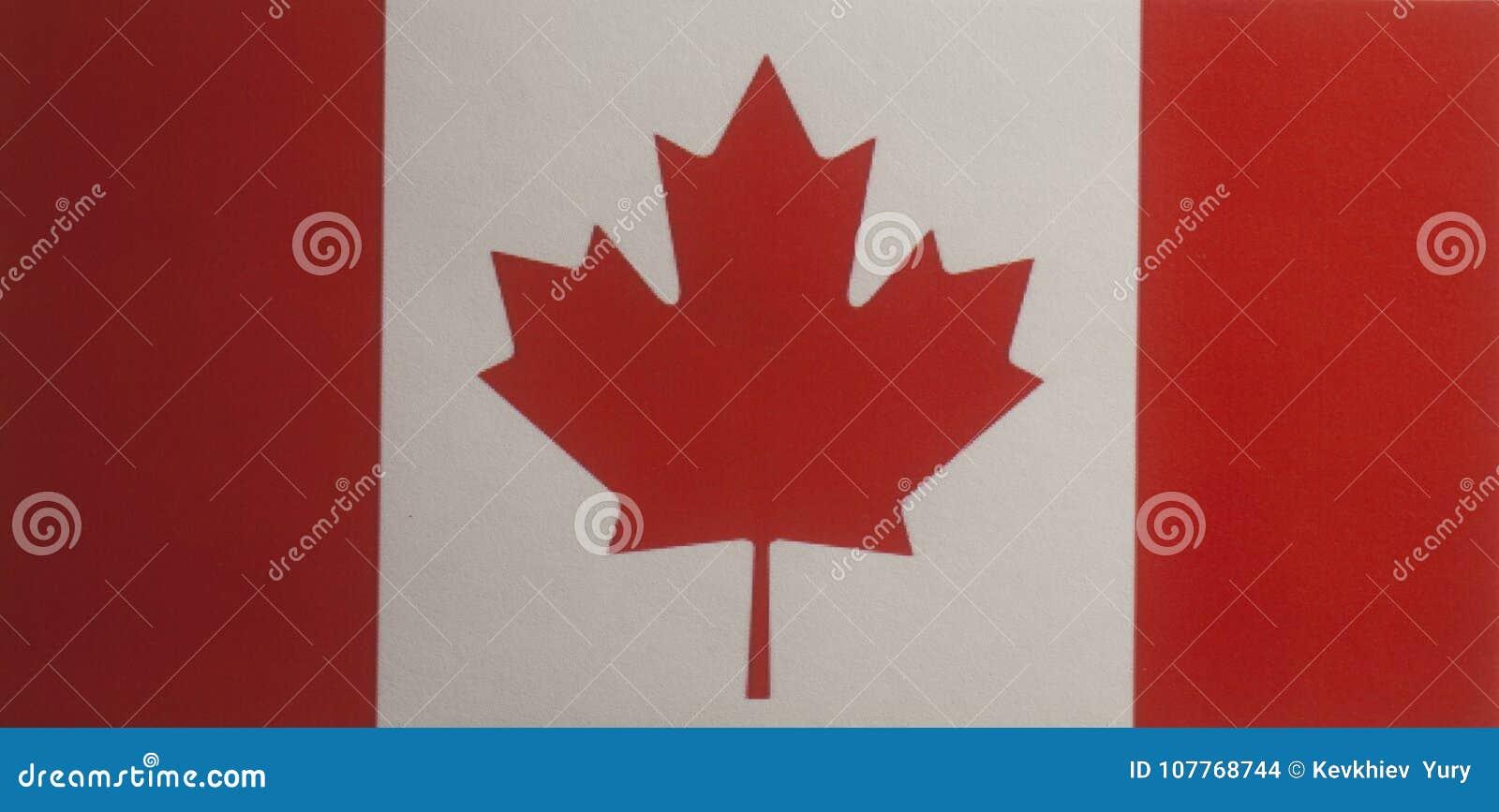 Flag Of Canada Stock Photo Image Of Folds Design Canadian 107768744