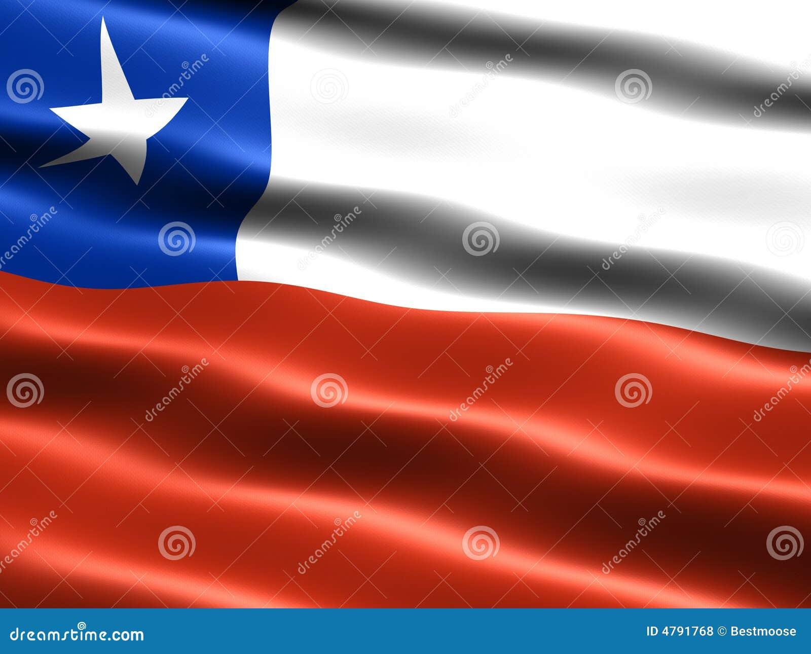flag of chile stock illustration illustration of patriot 4791768