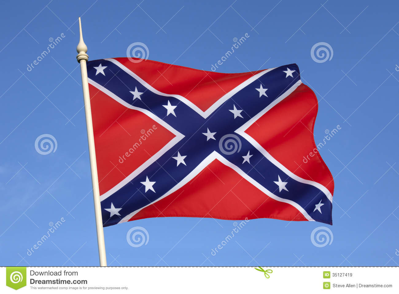 confederate states of america rebel flag 2nd national flag confederate states of america the 2nd national was adopted by the permanent congress in the flag act of 1863 it became known as the stainless banner or the jackson flag known as the stainless banner because of the pure white field with the square battle flag as the union.