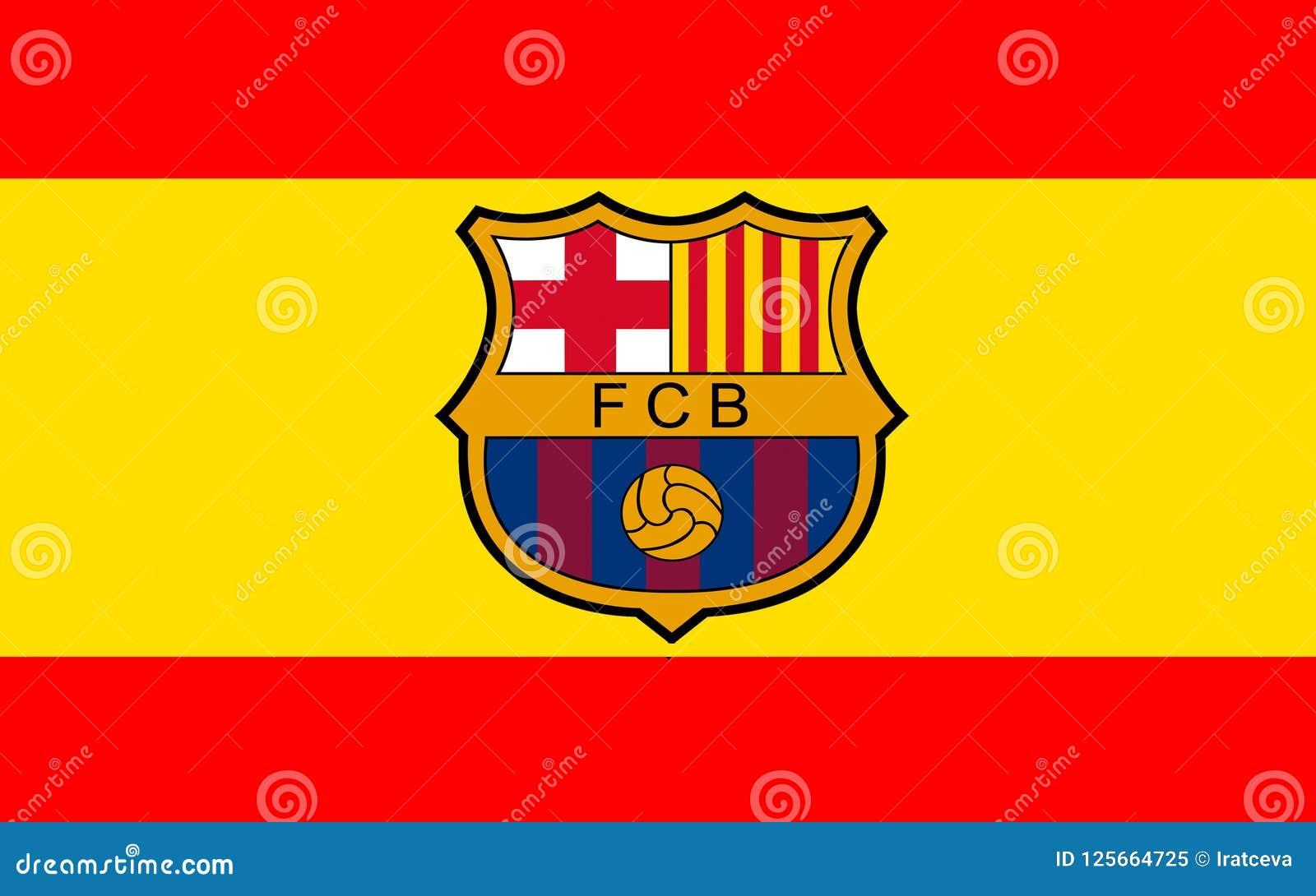 12+ Fc Barcelona Flag