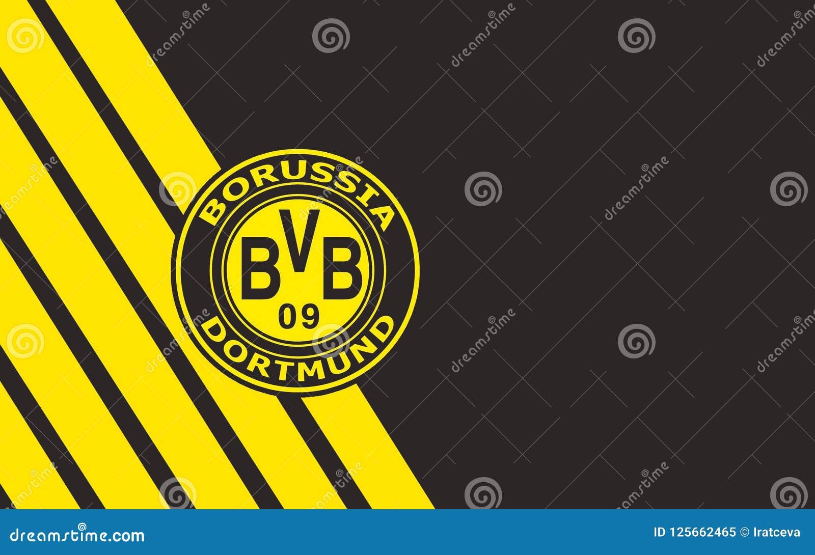 Flag Football Club Borussia Dortmund Gegmany Editorial Image Image Of Banner Fabric 125662465