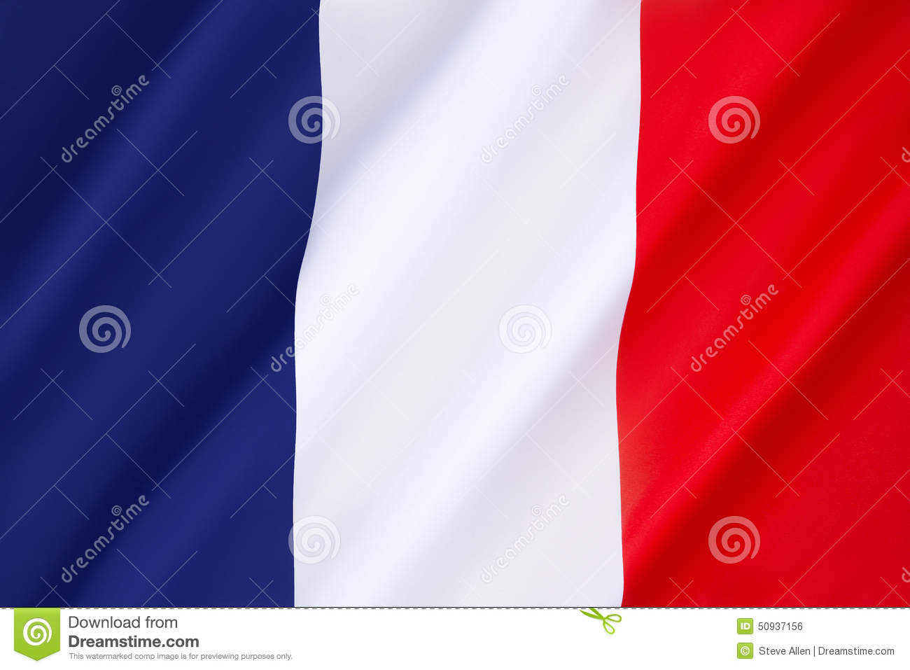 Download Flag of France stock photo. Image of country, france - 50937156