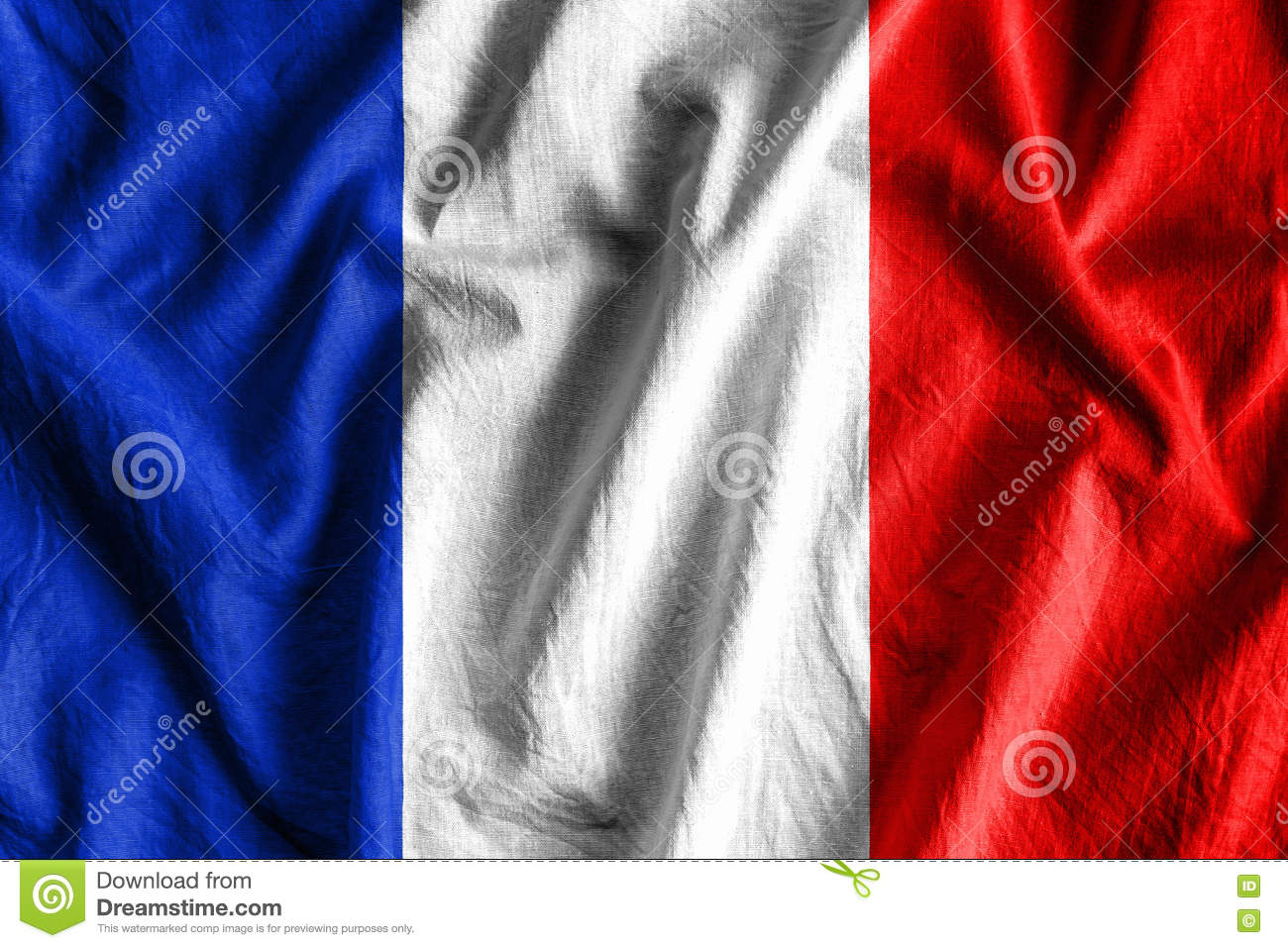 Download Flag of France stock photo. Image of sign, country, emblem - 78826062