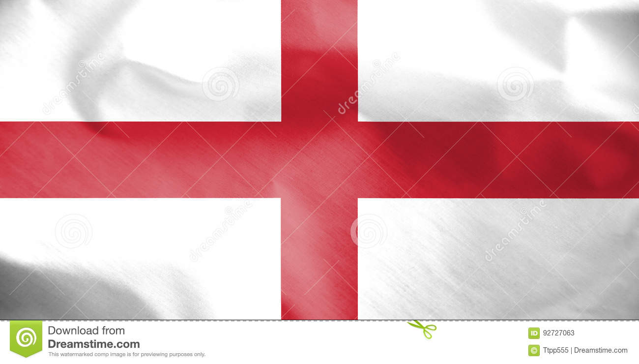 Flag Of Genoa Italy Stock Illustration Illustration Of Genoese 92727063