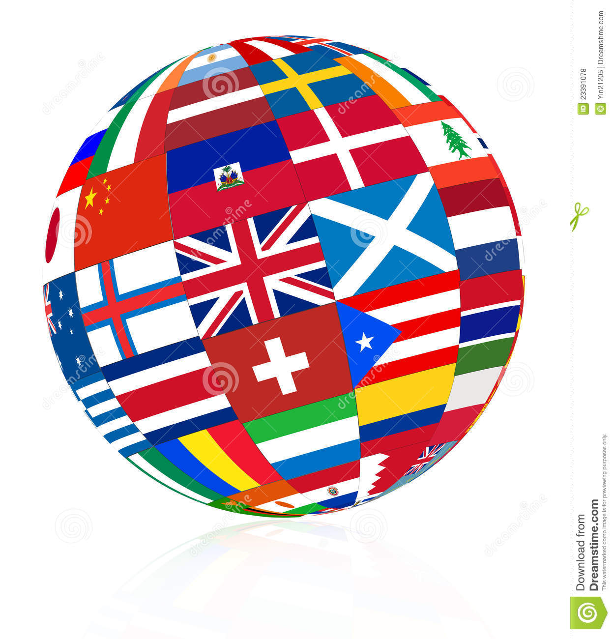 Free Clipart Of Flags