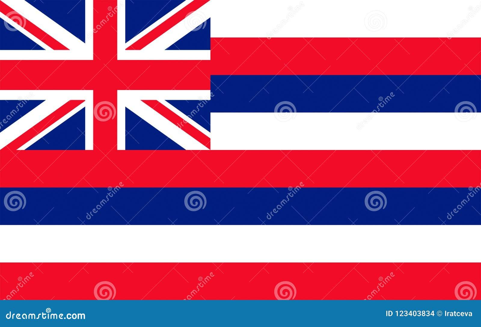 Flag of Hawaii, USA