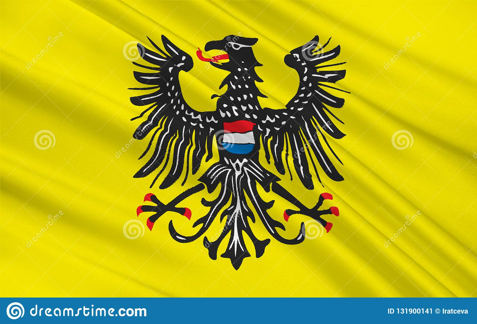 Flag Of Heilbronn Is A Town Of Baden Wuerttemberg Germany Stock Illustration Illustration Of Country European 131900141