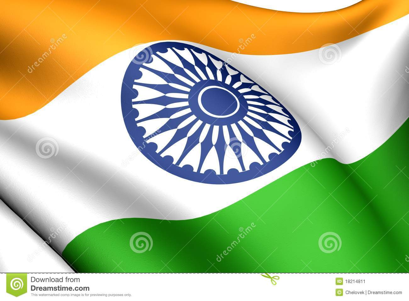 3d india national flag images