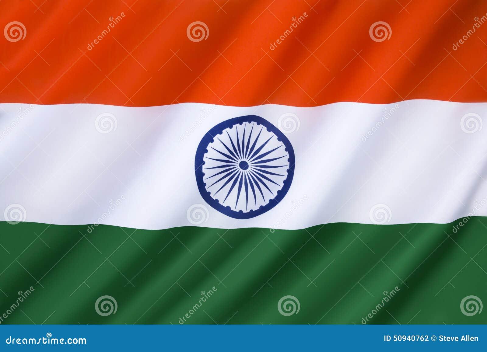 India Flag Black: Flag Of India. Shiny Black Round Button. Cartoon Vector