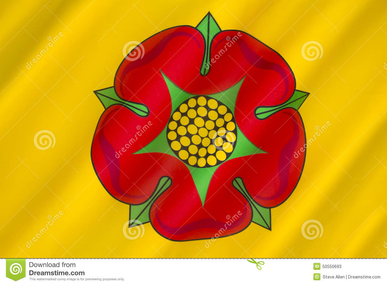 Flag gallery british county flags - Flag Of Lancashire United Kingdom Stock Photos