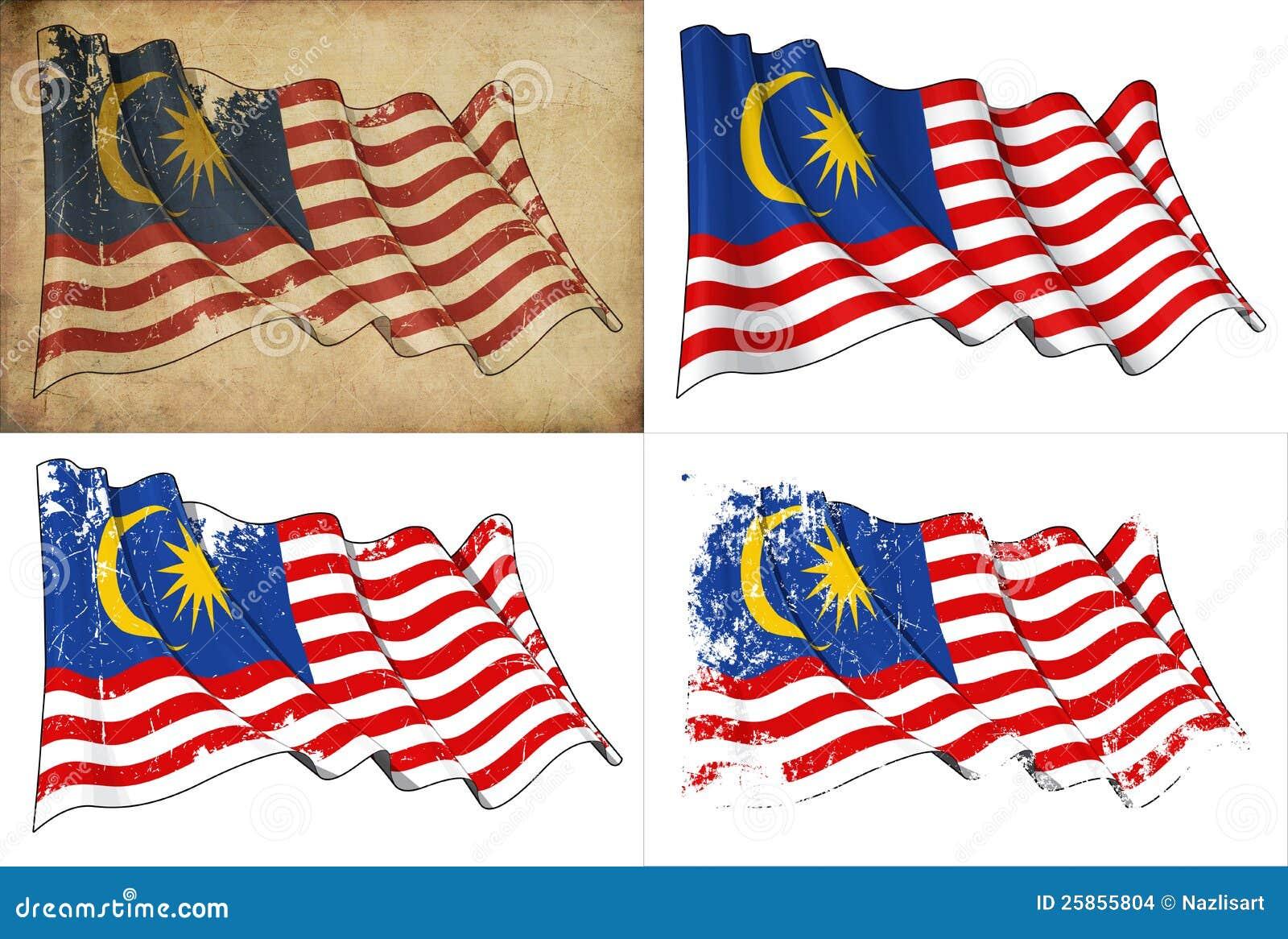 clipart malaysia flag-#50