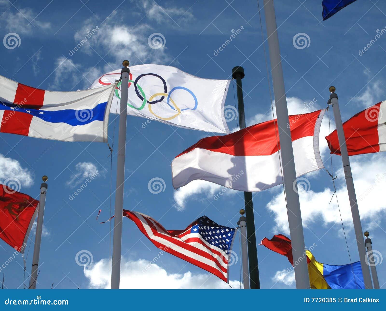 Flag olympic