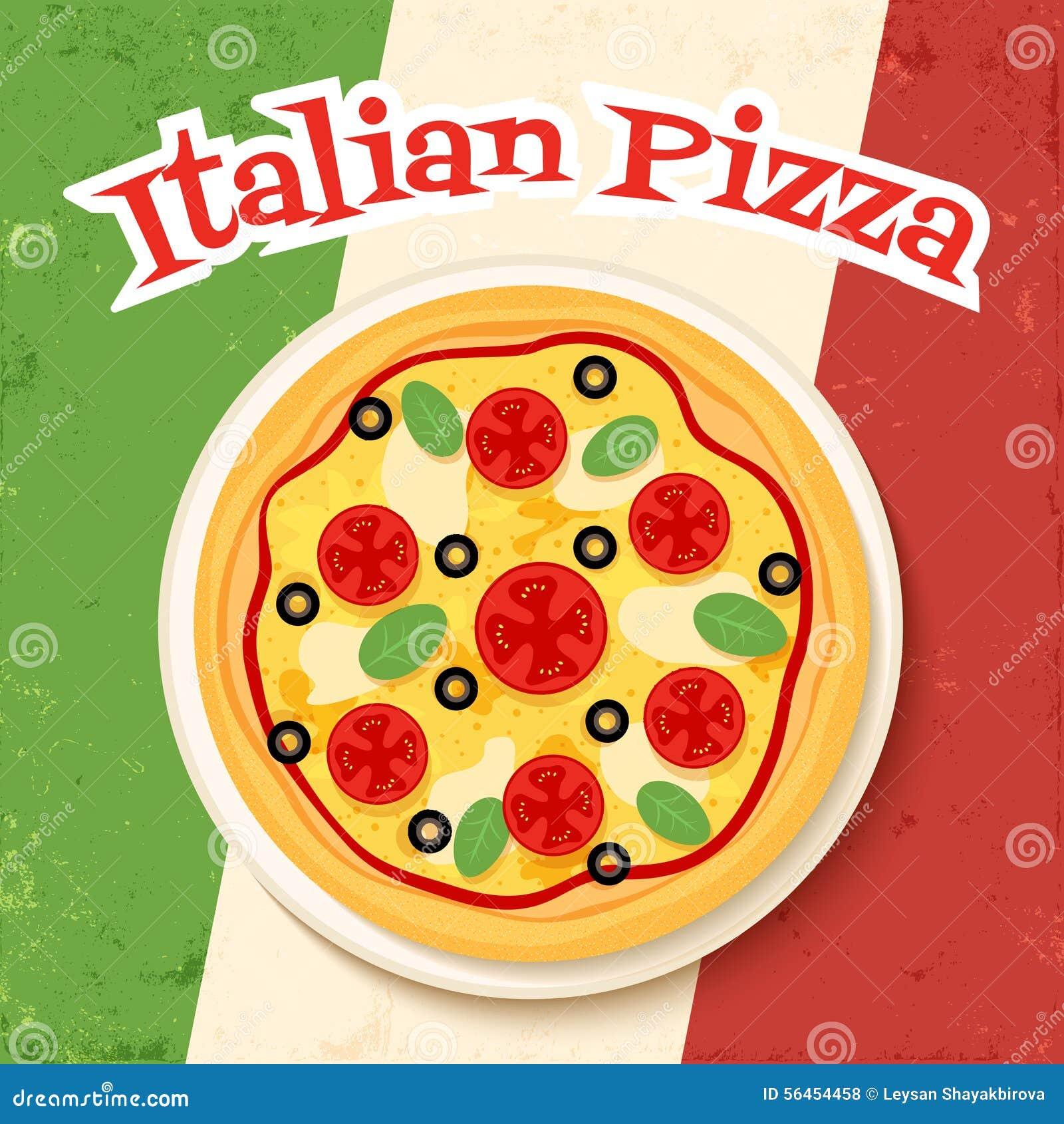 Fast Food Italian Flag