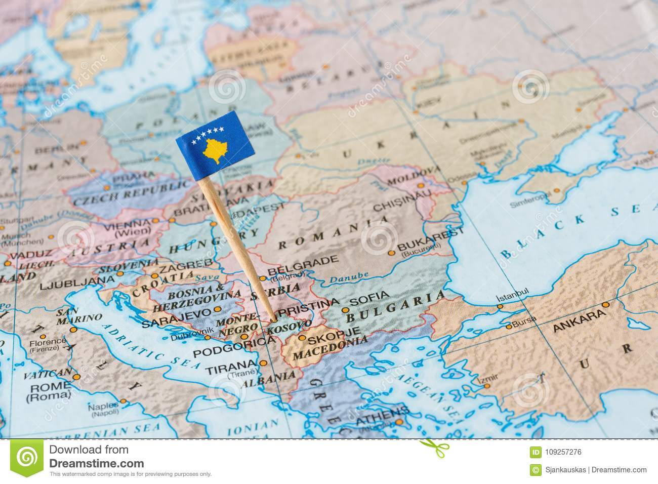 Kosovo Map Photos Free Royalty Free Stock Photos From Dreamstime