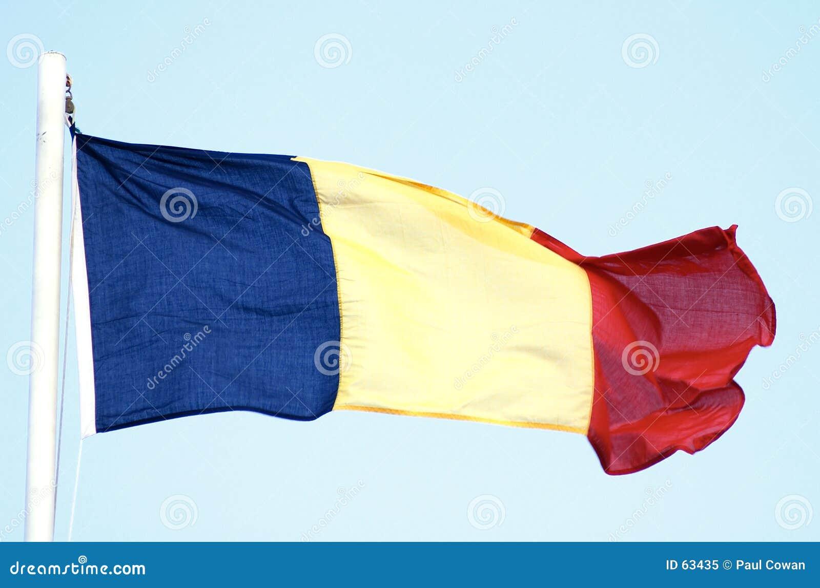 Flag romanian