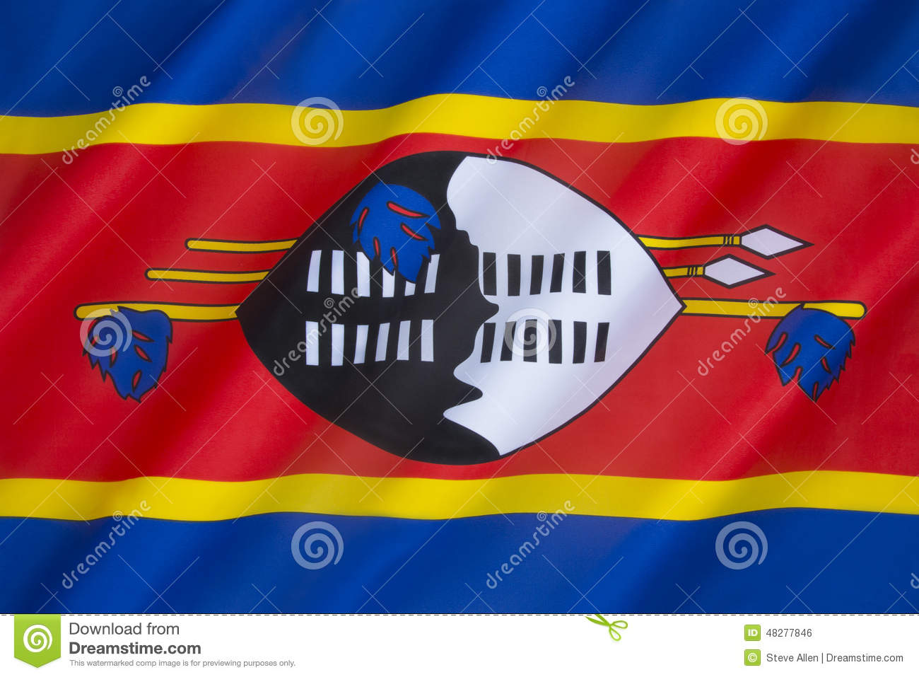what does the swaziland flag mean