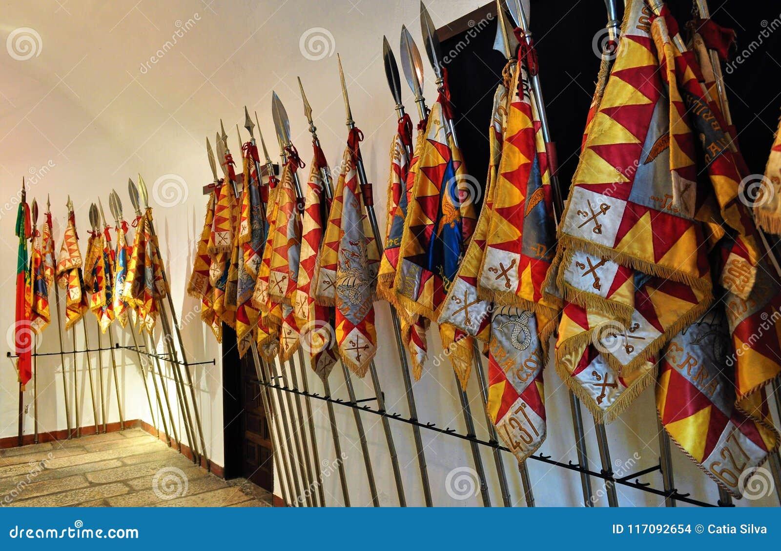 Flaga Żadny pułk kawalerii 3 - Smoki Olivença