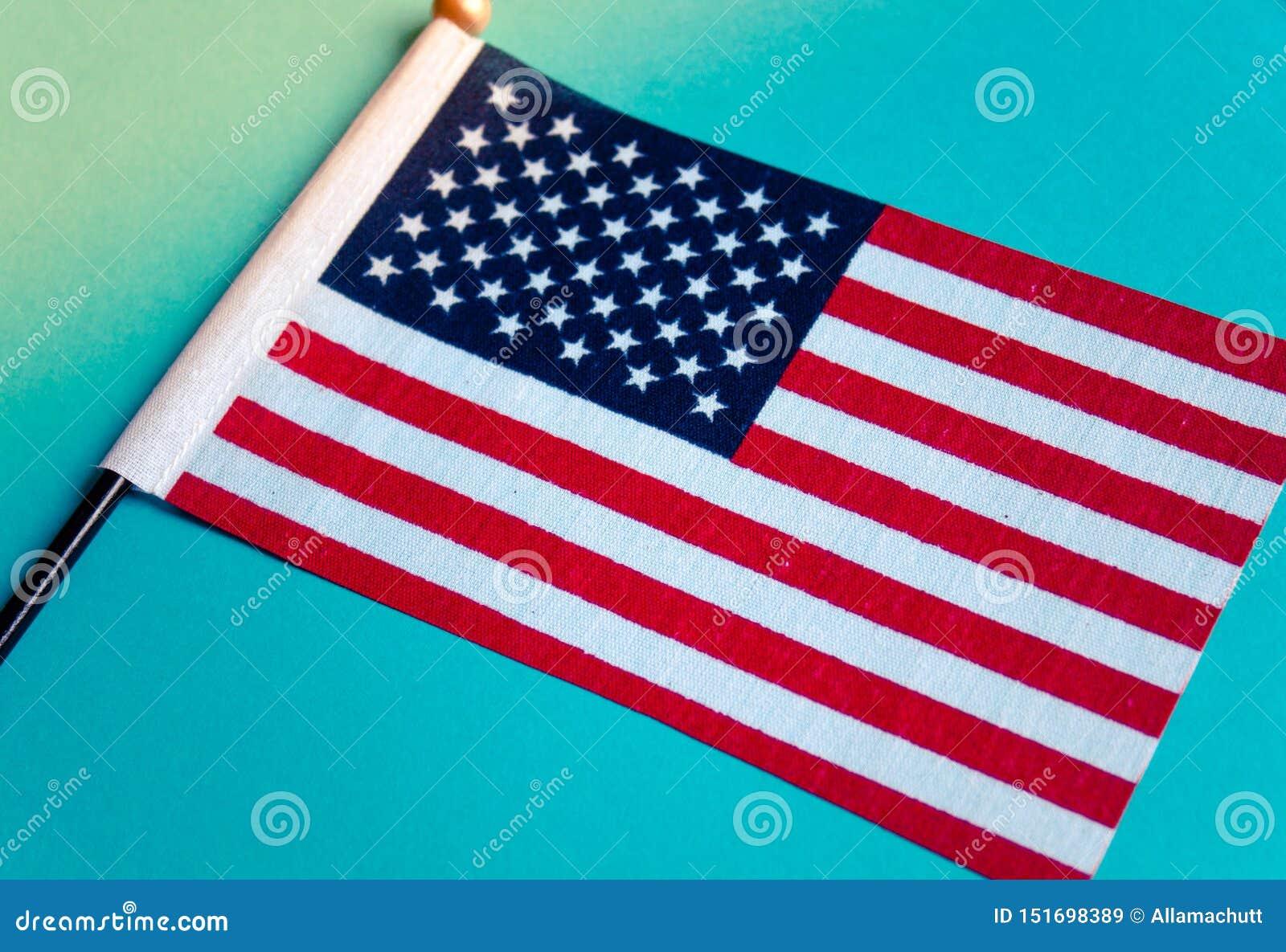 Flaga amerykańska wizerunek