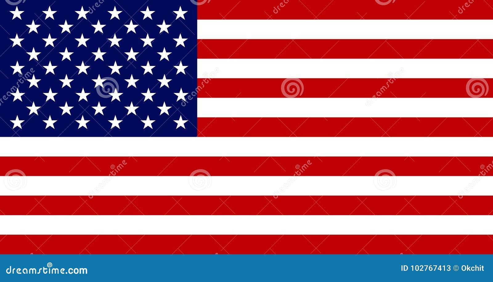 Flaga Amerykańska wizerunki