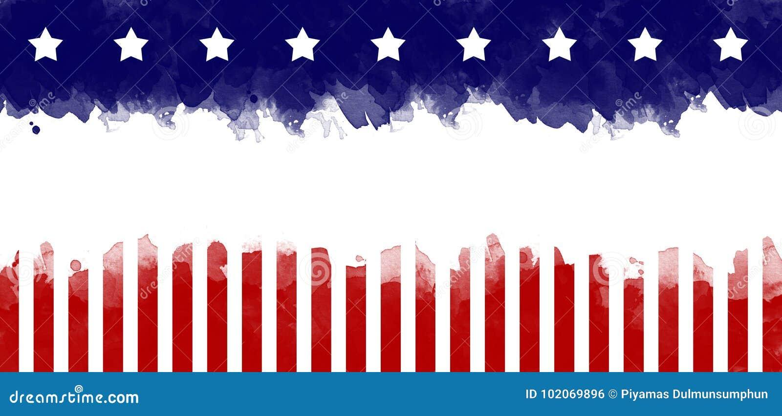 Flaga amerykańskiej grunge kartka z pozdrowieniami tło