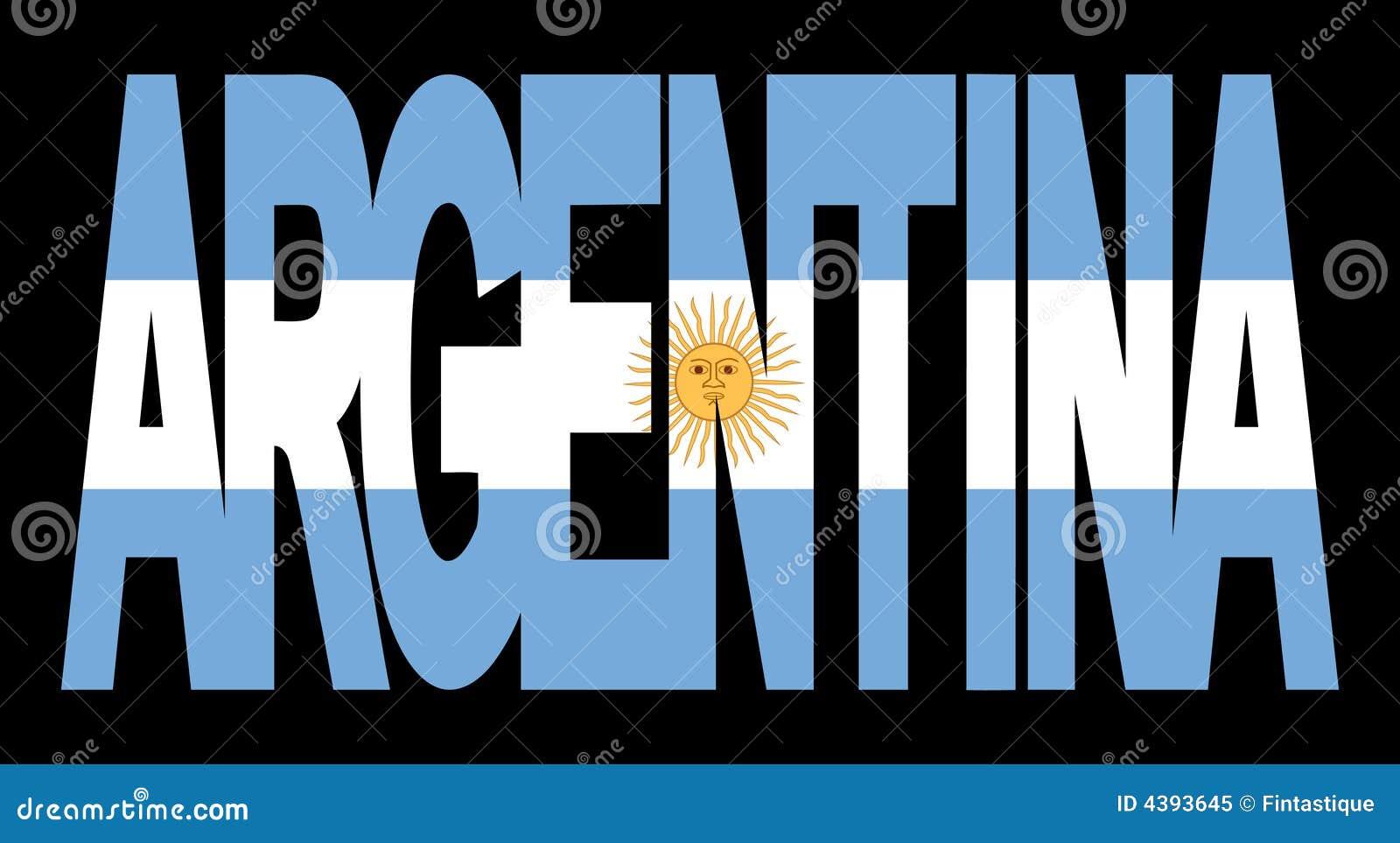 Flaga argentina tekst