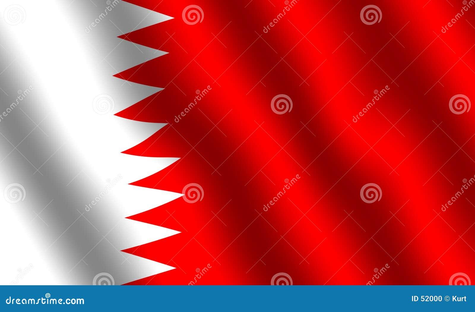 Flaga bahrain