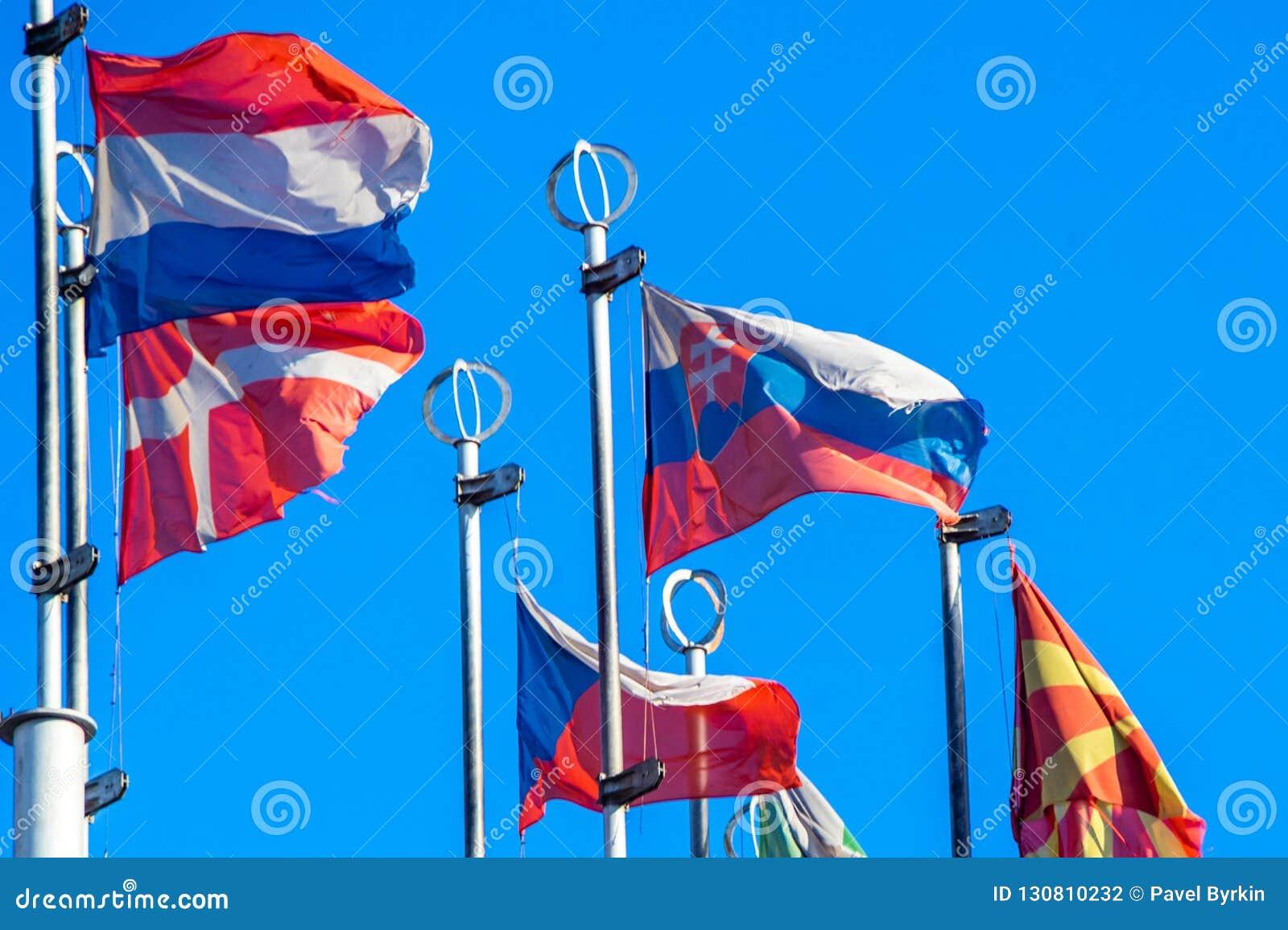 Flaga Kraj europejski