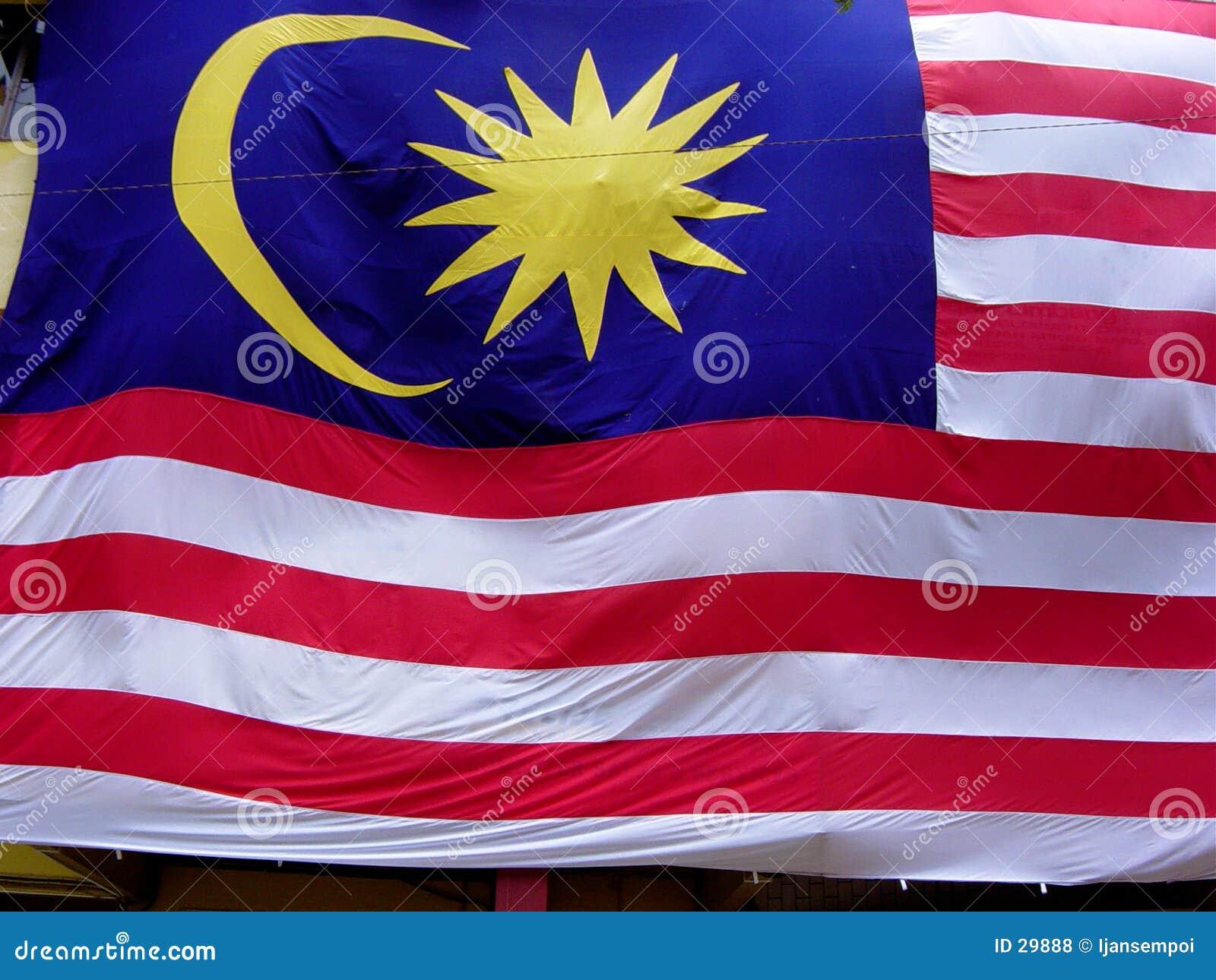 Download Flaga Malaysia zdjęcie stock. Obraz złożonej z standard - 29888