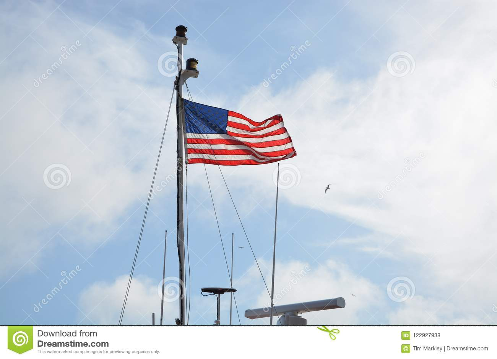 Flaga na statku