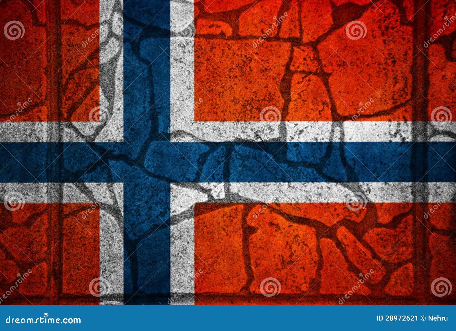 Flaga Norway