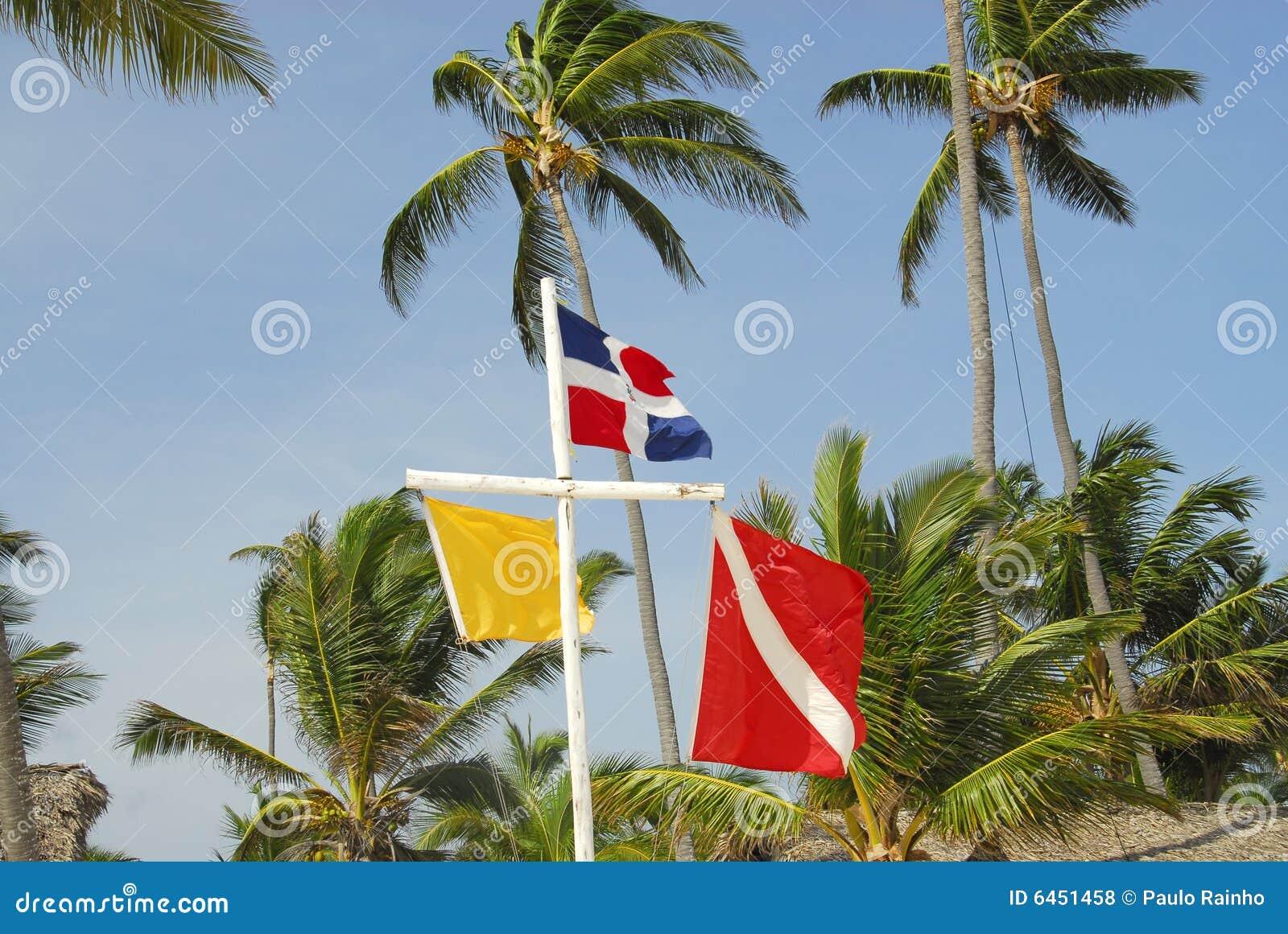 Flaga plażowych