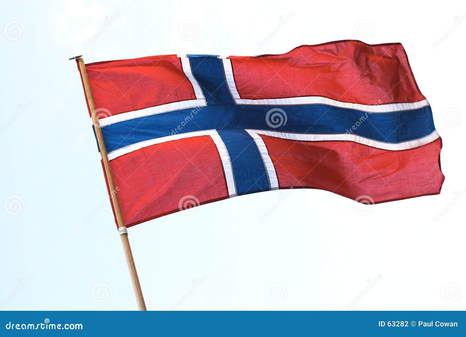 Flaga po norwesku