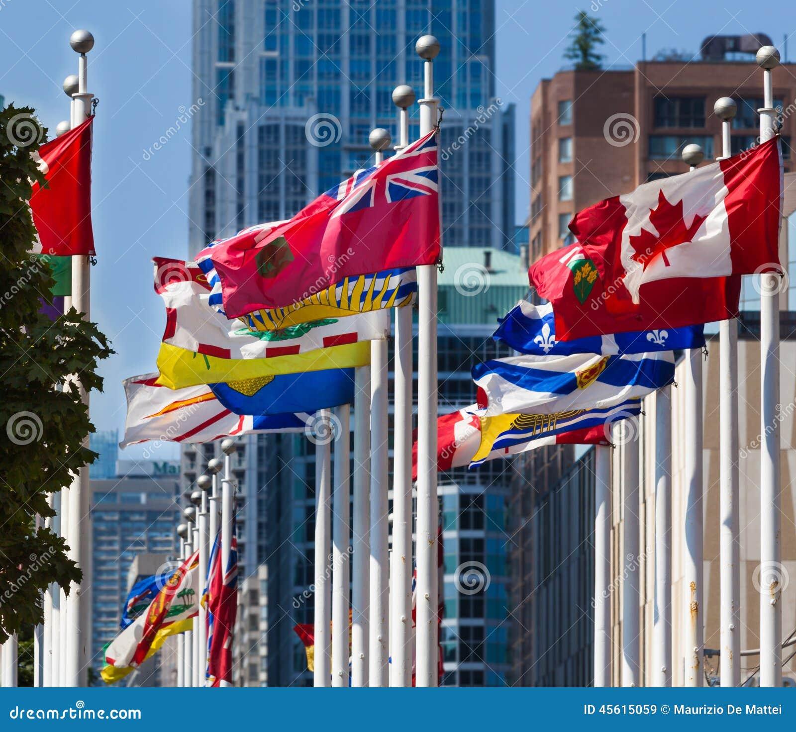 Flaga van de Provincies van Canada