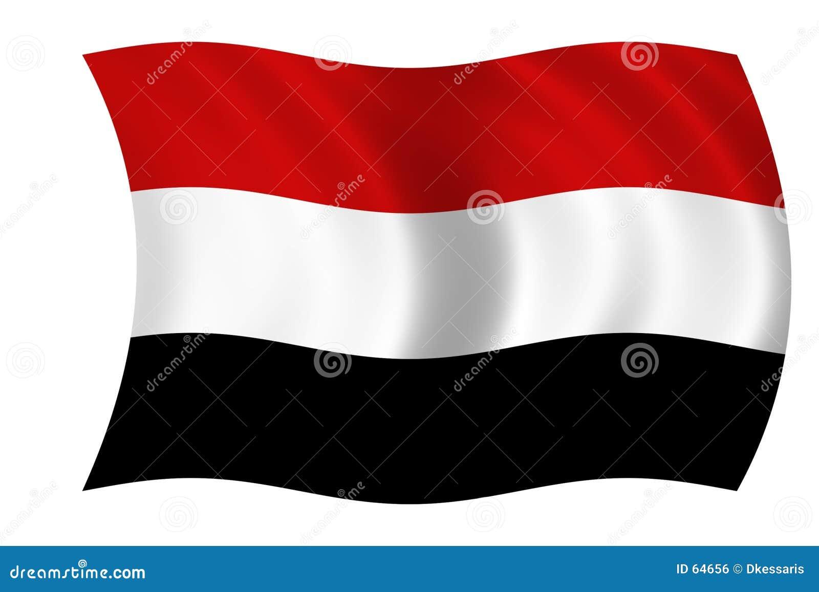 Flaga Yemen