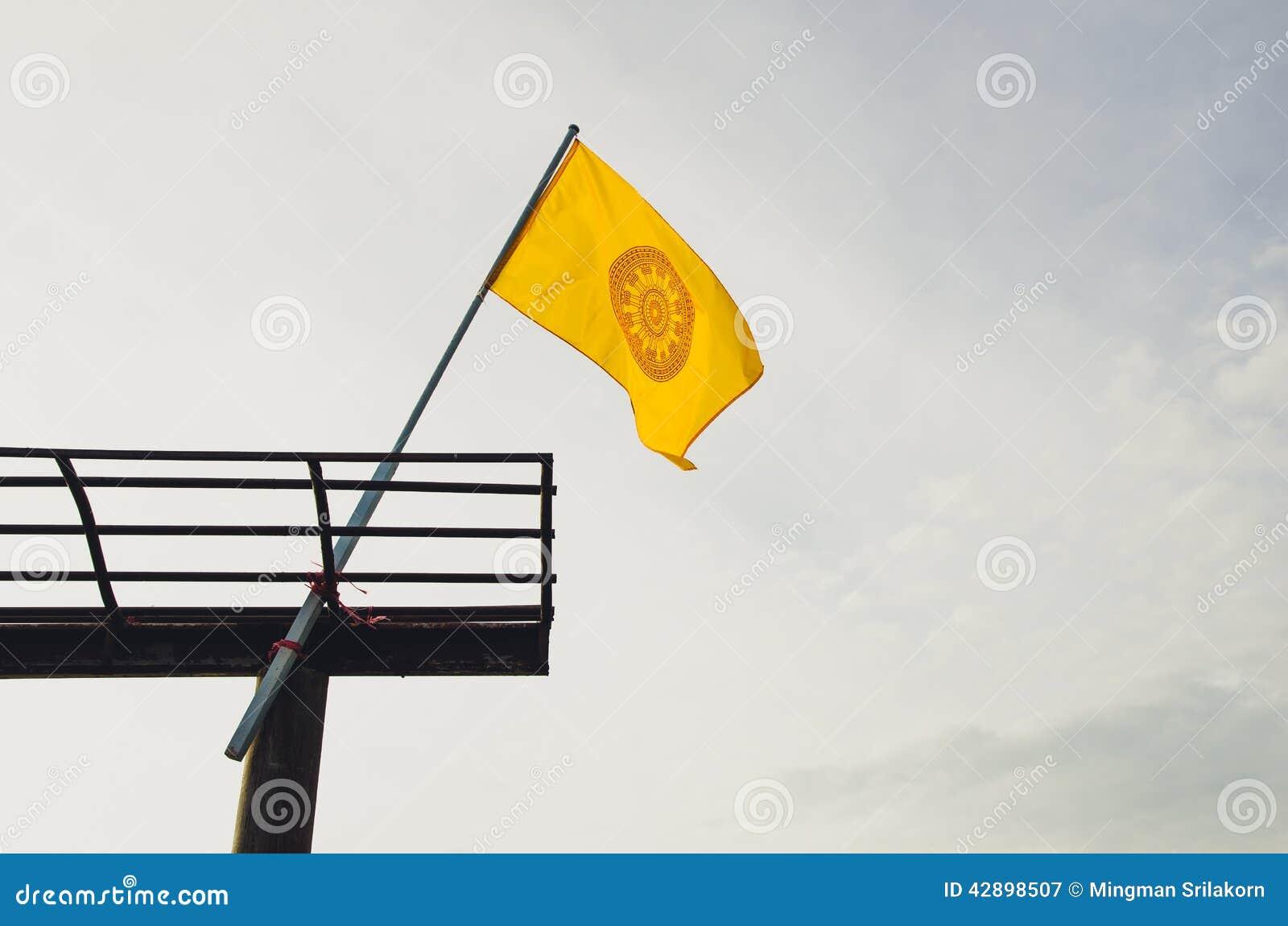 flage of buddhism symbol stock image image of buddhism 42898507