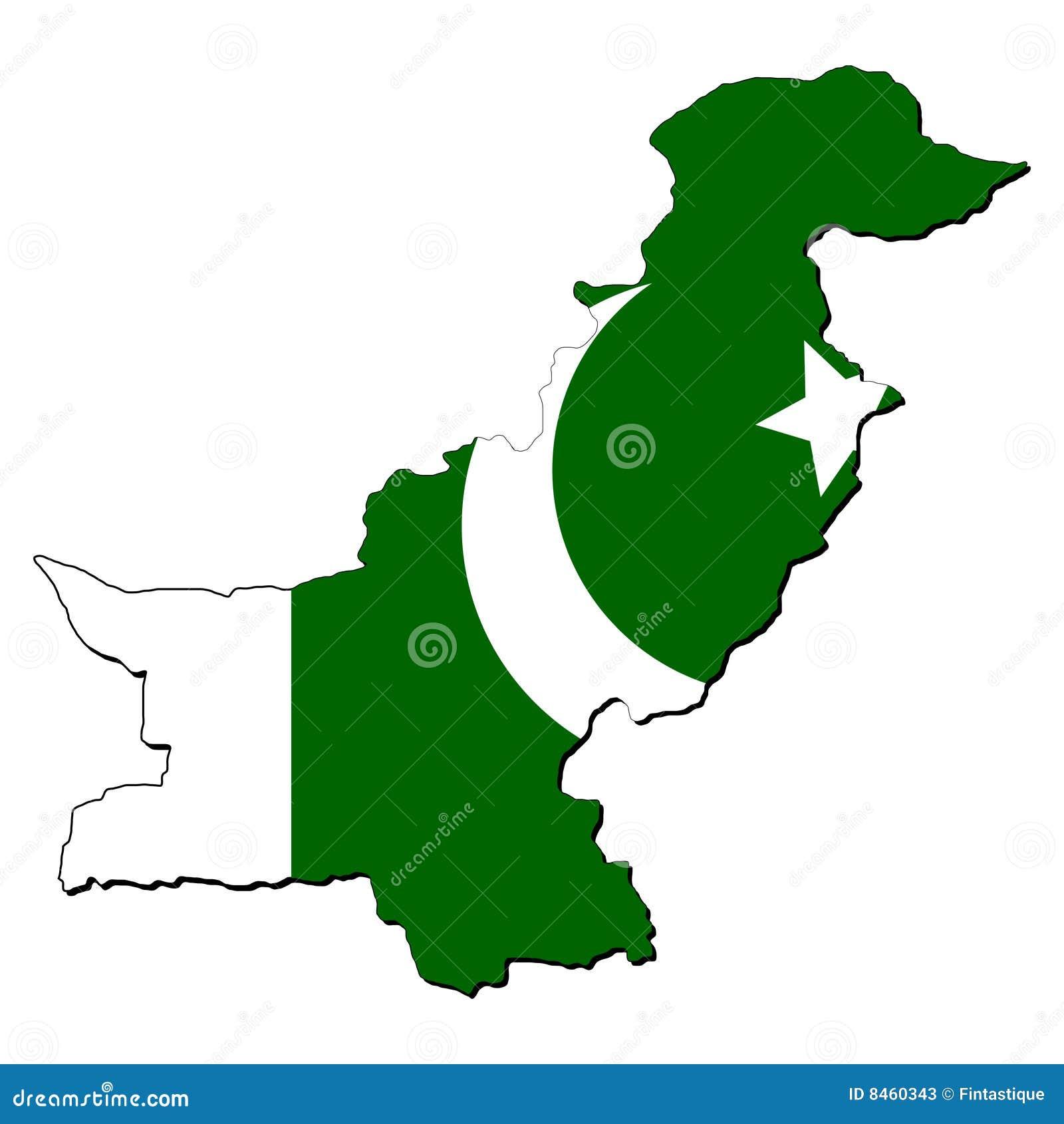 Flaggaöversikt pakistan