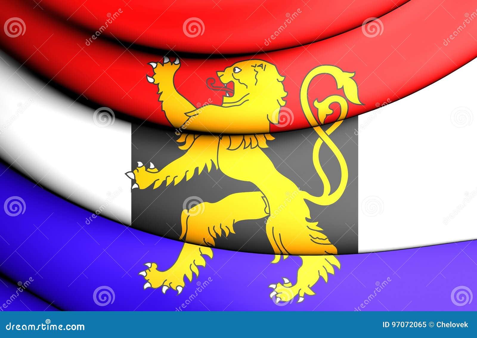 Flagga av Benelux