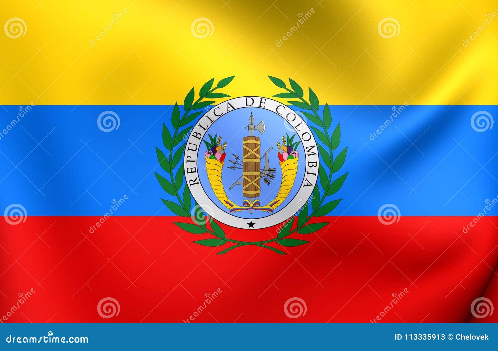 Flagga av Gran Colombia