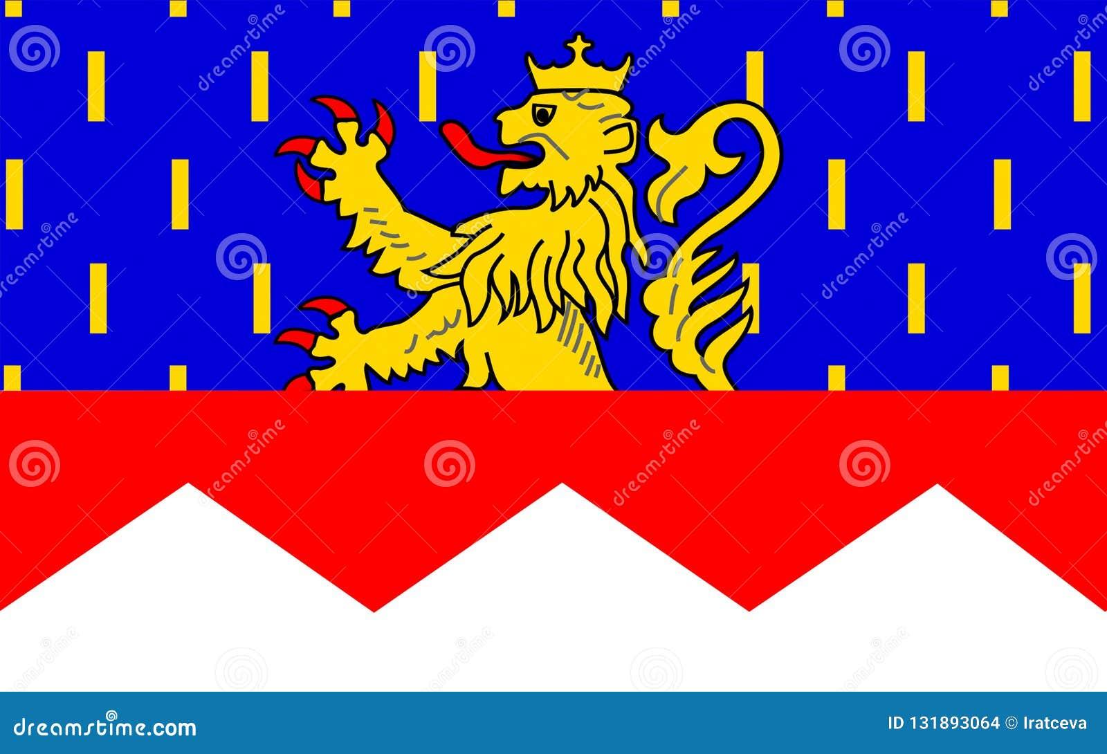 Flagga Av Jura Frankrike Arkivfoto Bild Av Land Legion 131893064