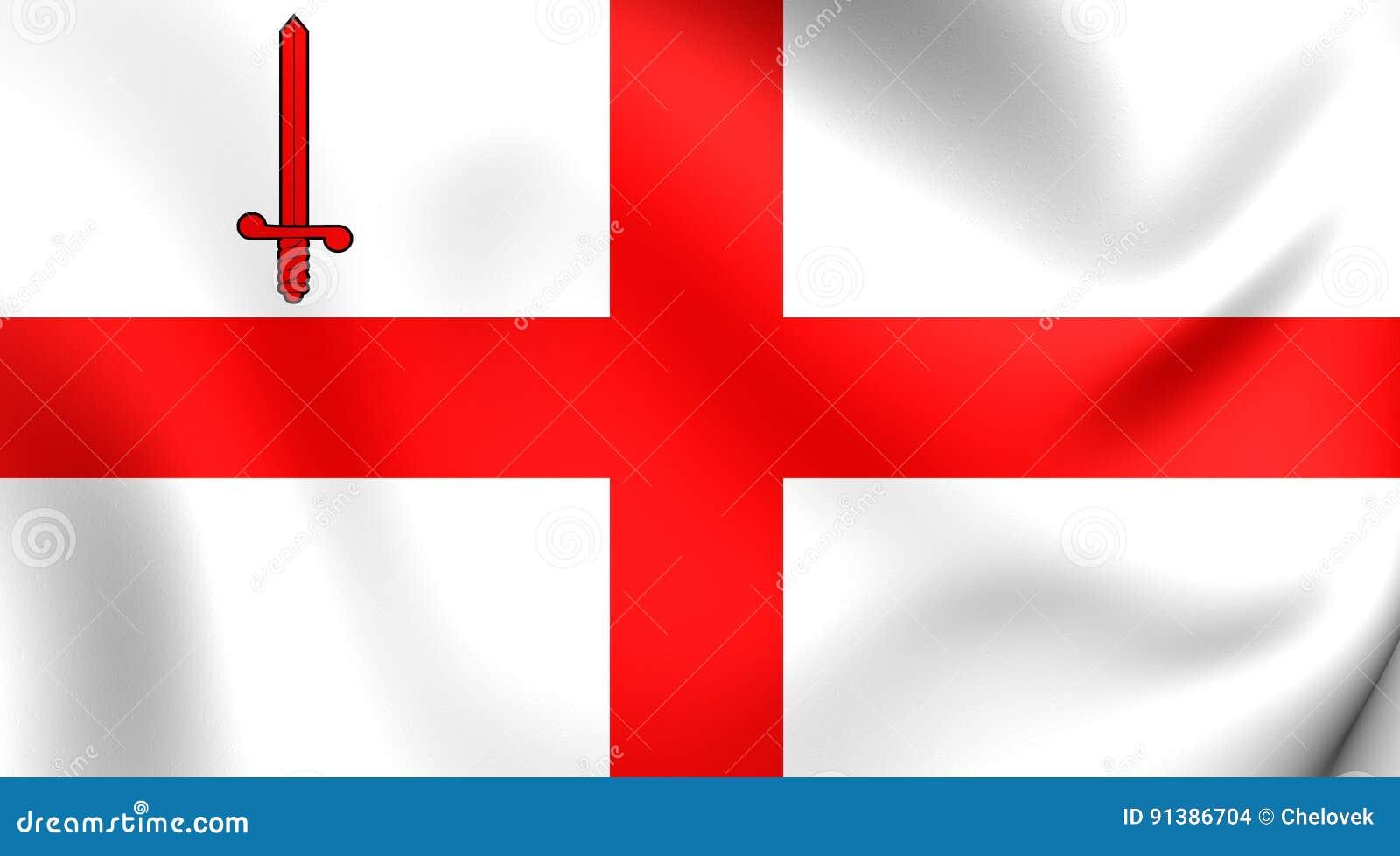 Flagga av London